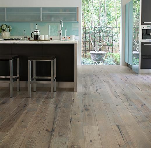 Wood Stain Dusk: 2 Tone Hardwood Flooring